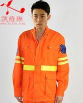 中国矿山救援战斗服